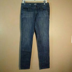 LOFT 6 Medium Wash Blue Modern Skinny Jeans